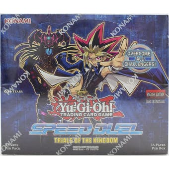 Yu-Gi-Oh Speed Duel: Trials of the Kingdom Booster 12-Box Case