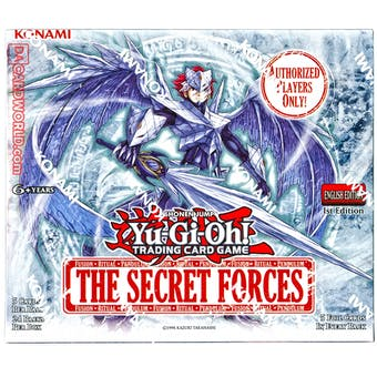 Yu-Gi-Oh The Secret Forces 1st Edition Booster Box