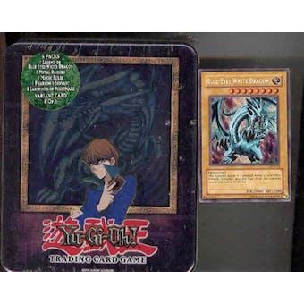 Upper Deck Yu-Gi-Oh 2003 Holiday Blue Eyes White Dragon Tin