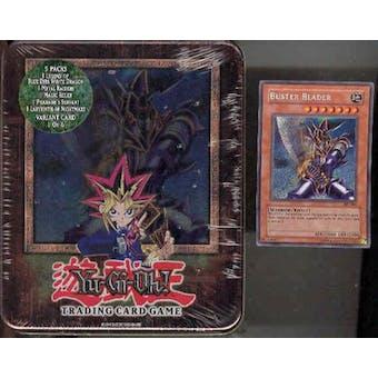 Upper Deck Yu-Gi-Oh 2003 Holiday Buster Blader Tin