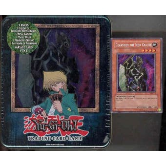 Upper Deck Yu-Gi-Oh 2003 Holiday Gearfried the Iron Knight Tin