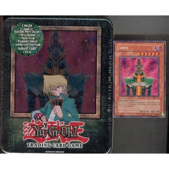 Upper Deck Yu-Gi-Oh 2003 Holiday Jinzo Tin