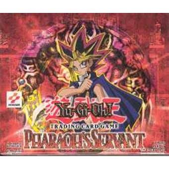 Upper Deck Yu-Gi-Oh Pharaoh's Servant Unlimited Booster Box (24-Pack) PSV