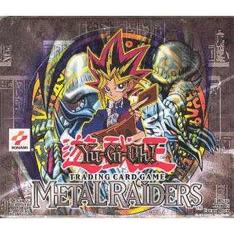 Upper Deck Yu-Gi-Oh Metal Raiders 1st Edition Booster Box (24 packs) MRD