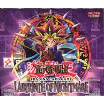 Upper Deck Yu-Gi-Oh Labyrinth of Nightmare 1st Edition Booster Box (24-Pack LON)