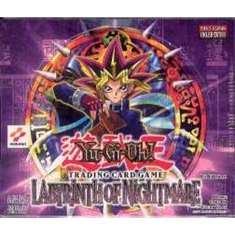 Upper Deck Yu-Gi-Oh Labyrinth of Nightmare 1st Edition Booster Box (36-Pack) LON