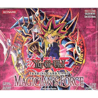 Upper Deck Yu-Gi-Oh Magician's Force 1st Edition Booster Box (24-Pack) MFC