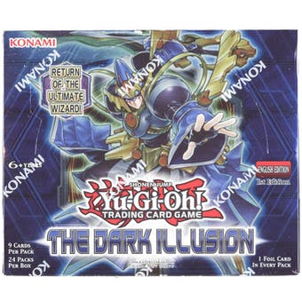 Yu-Gi-Oh The Dark Illusion Booster Box