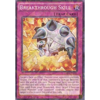 Yu-Gi-Oh 1st Ed. BP03 Single Breakthrough Skill Shatterfoil - NEAR MINT (NM)