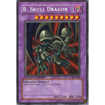 Yu-Gi-Oh Limited Edition Tin Single B. Skull Dragon Secret Rare (BPT-006) - NEAR MINT (NM)
