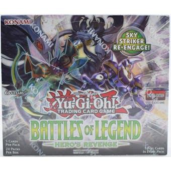 Yu-Gi-Oh Battles of Legend: Hero's Revenge Booster Box