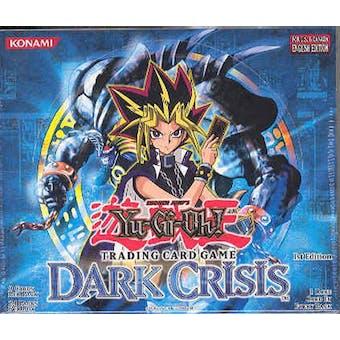 Upper Deck Yu-Gi-Oh Dark Crisis 1st Edition Booster Box (24-Pack) DCR