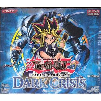 Upper Deck Yu-Gi-Oh Dark Crisis 1st Edition Booster Box (36-Pack) DCR