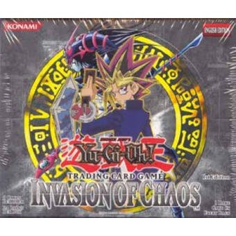 Upper Deck Yu-Gi-Oh Invasion of Chaos 1st Edition Booster Box IOC