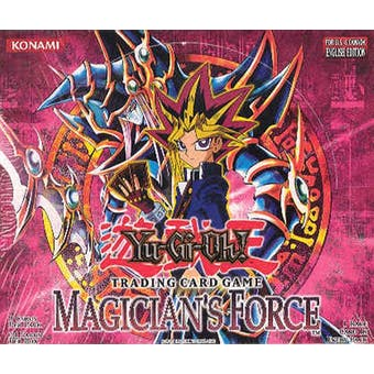 Upper Deck Yu-Gi-Oh Magician's Force Unlimited Booster Box (24-Pack) MFC