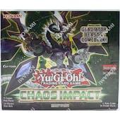 Yu-Gi-Oh Chaos Impact Booster Box