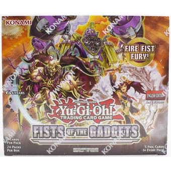 Yu-Gi-Oh Fists of Gadgets 1st Edition Booster Box
