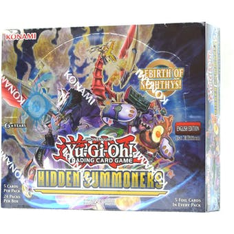 Yu-Gi-Oh Hidden Summoners Booster Box