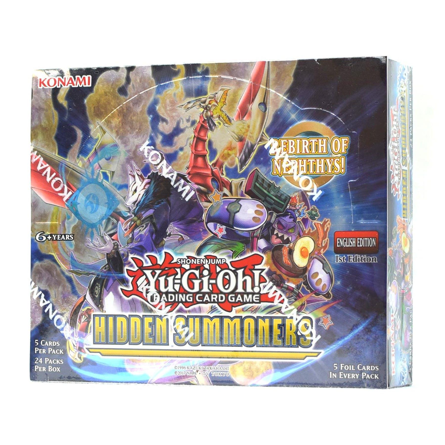 Yu-Gi-Oh Hidden Summoners Booster Box