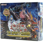 Yu-Gi-Oh Infinity Chasers Booster Box