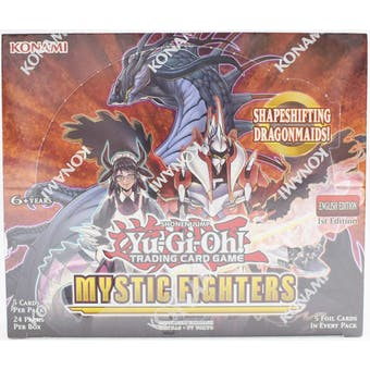 Yu-Gi-Oh Mystic Fighters Booster Box