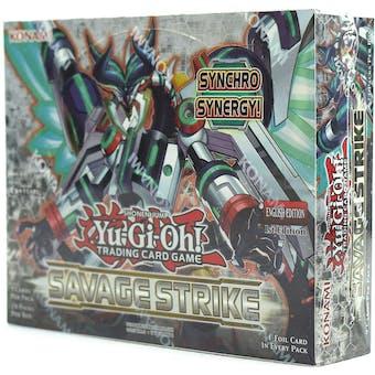 Yu-Gi-Oh Savage Strike Booster Pack