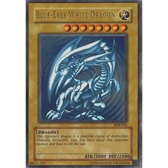 Yu-Gi-Oh SD Kaiba Single Blue-Eyes White Dragon Ultra Rare (SDK-001) - NEAR MINT (NM)