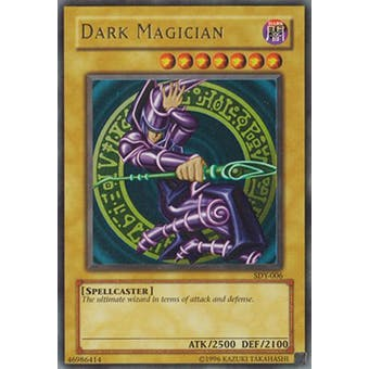 Yu-Gi-Oh SD Yugi Single Dark Magician Ultra Rare (SDY-006) - NEAR MINT (NM)