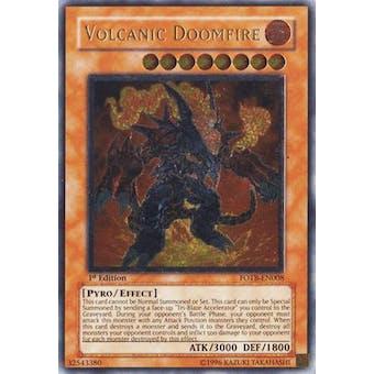 Yu-Gi-Oh FOTB Single Volcanic Doomfire Ultimate Rare - NEAR MINT (NM)