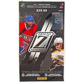 2010/11 Panini Zenith Hockey Hobby 3-Pack Box w/Memorabilia card!