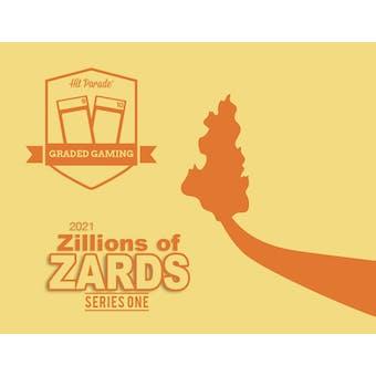 2021 Hit Parade Pokemon Zillions of Zards Series 1 Hobby 10-Box Case
