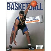 2019 Beckett Basketball Monthly Price Guide (#326 November) (Zion Williamson)